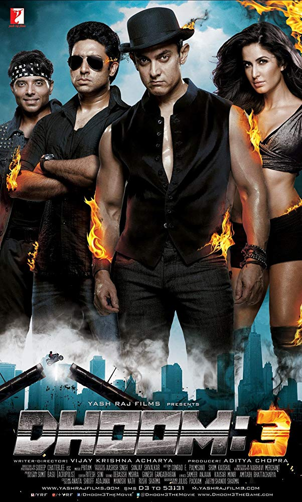 Dhoom 3, A moviereview