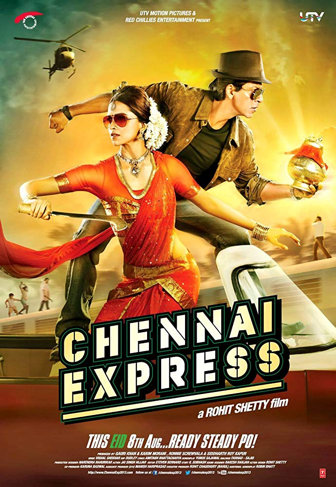 Chennai Express… A MovieReview.
