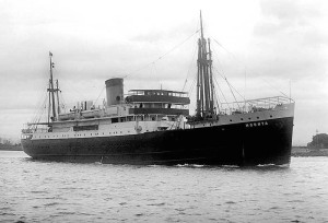 The MV Moonta; what would later become a land-locked casino.