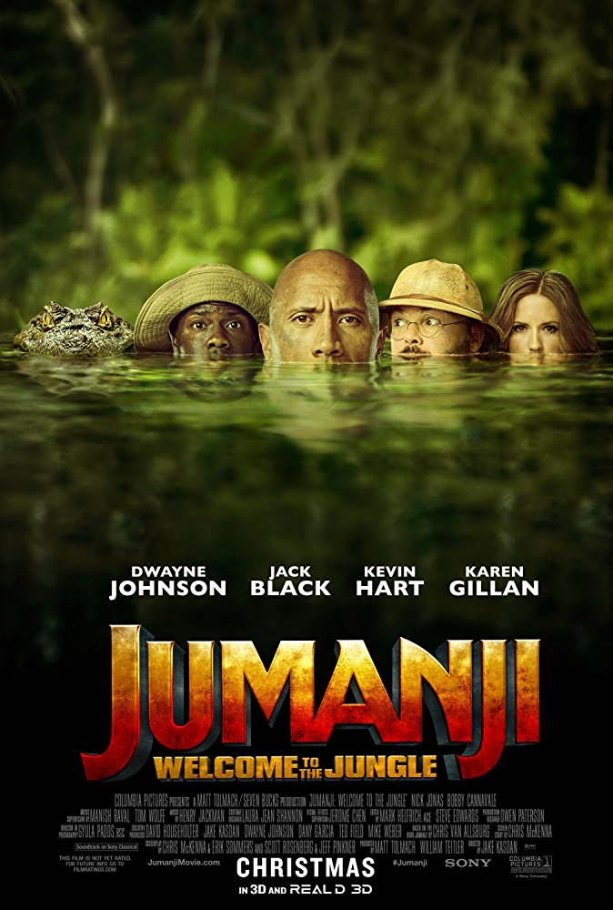 Jumanji: Welcome to the Jungle… A MovieReview…