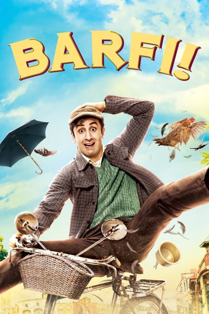 Ranbir Kapoor as Barfi