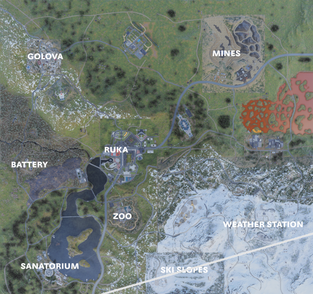 Call of Duty: Warzone Leaked Map – UralMountains