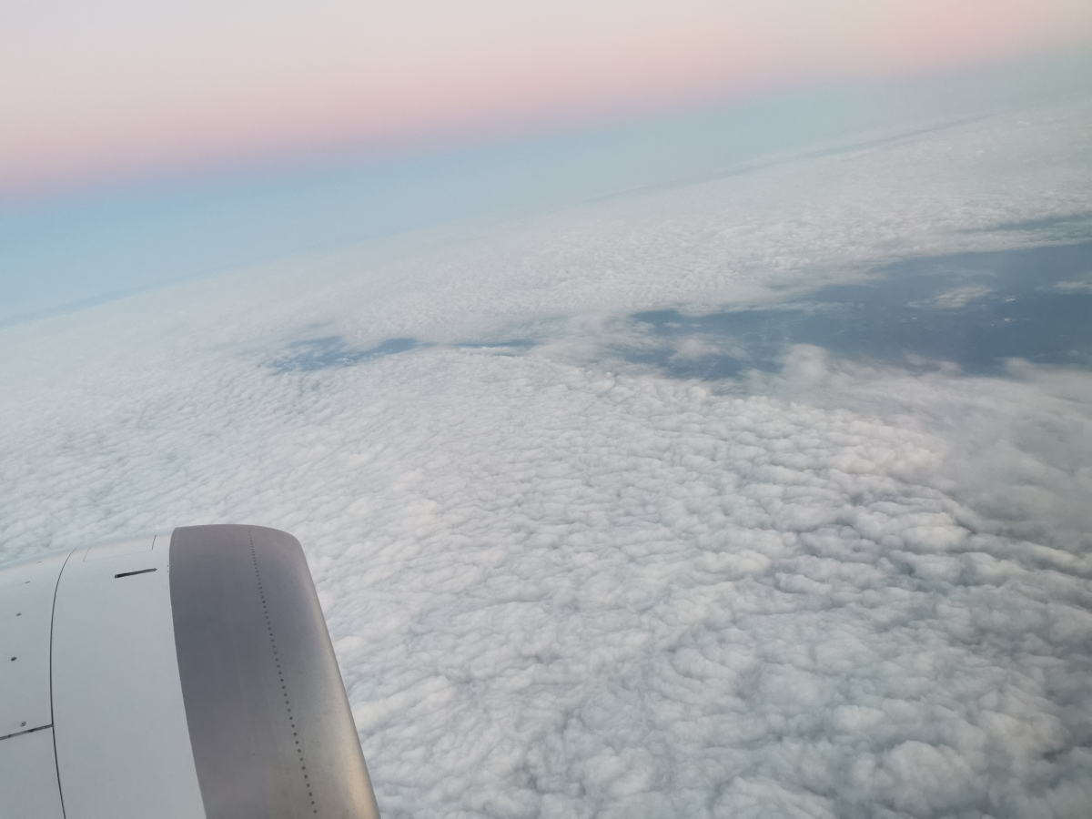 Flying through thesky